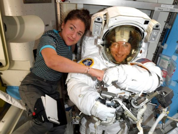 Astronauts to make history with 1st-ever all-female spacewalk