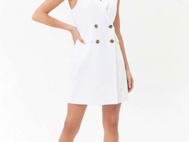 PHOTO: A double-breasted blazer dress by Forever 21 is pictured here.