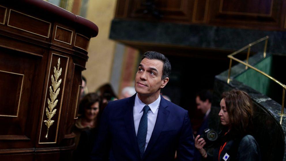 Sanchez's Bid To Form New Spanish Gov't Fails In First Vote