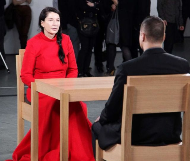 Photo Artist Marina Abramovic At The Opening Night Party Of Marina Abramovic The Artist