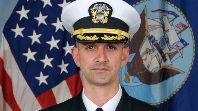 Alfredo Sanchez is seen in this undated Navy photo.