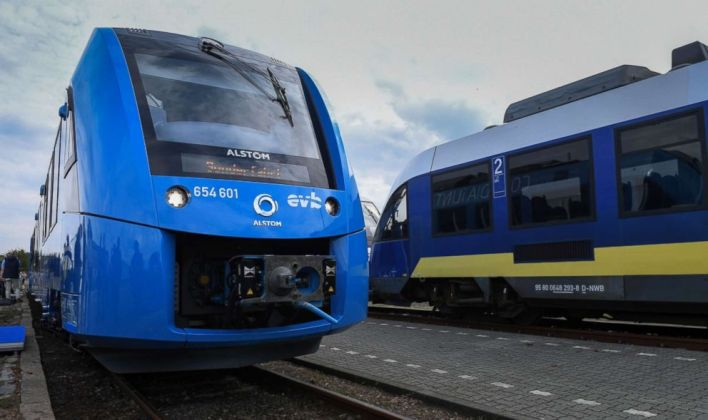 Image result for hydrogen train