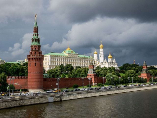 PHOTO: This file photo taken on July 09, 2018, shows the Kremlin in Moscow