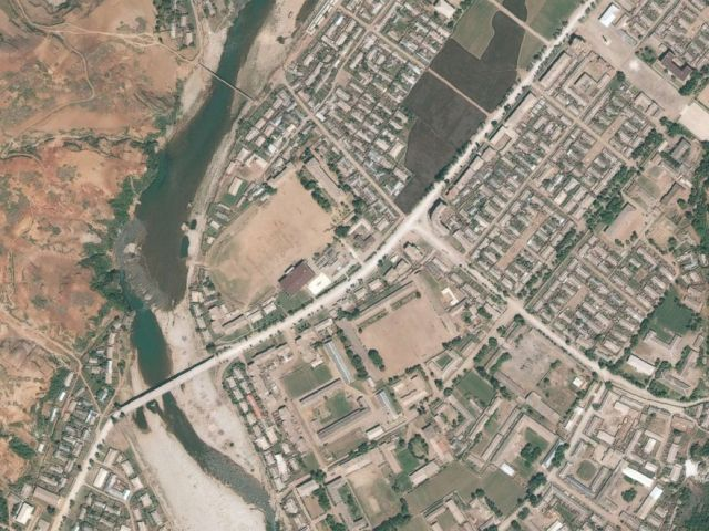 PHOTO: Satellite imagery of Yodok Concentration Camp, Camp 15, in North Korea, June 8, 2015.
