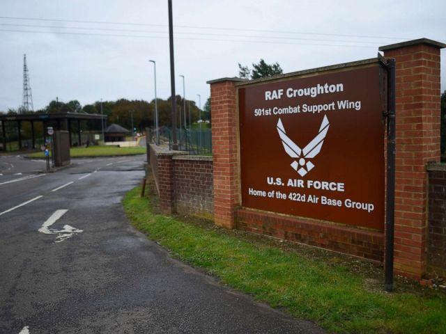 PHOTO: A general view of RAF Croughton near Brackley, England, Oct. 7, 2019.