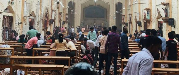 Image result for Sri Lanka churches hold first Sunday Mass since Easter bombings