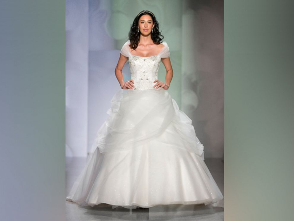 Disney Reveals New Princess Wedding Dresses