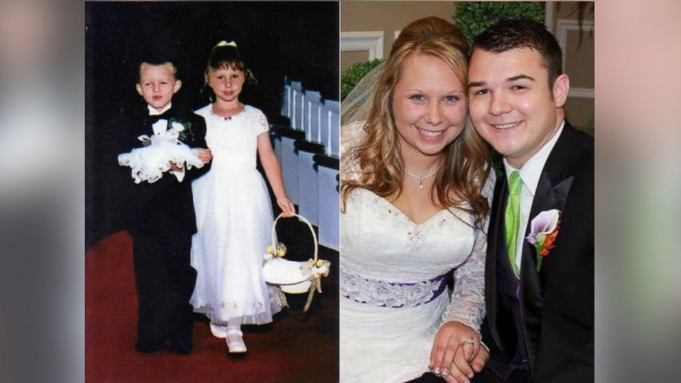 Ring Bearer And Flower Girl Marry In Same Church 17 Years