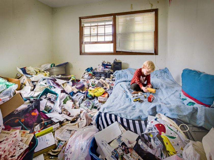 Image result for dorm hoarder