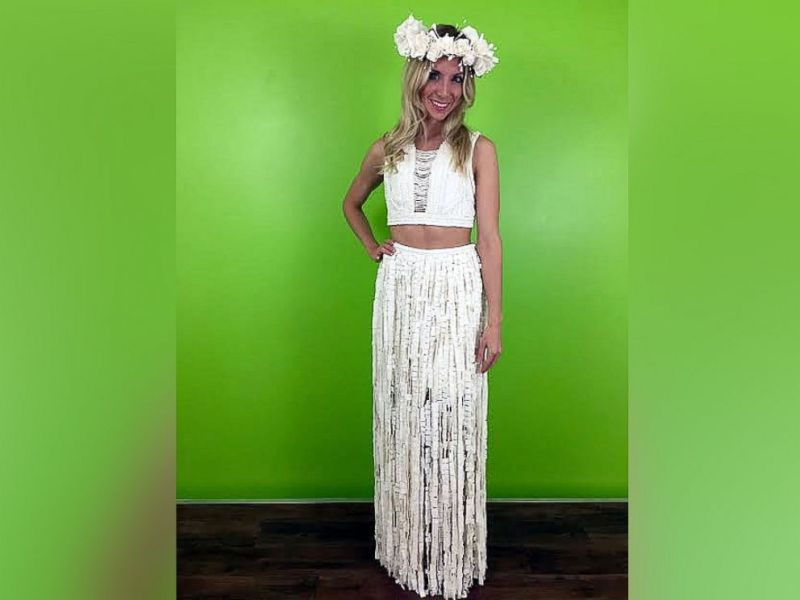 Toilet Paper Wedding Dresses Stun in Annual Contest   ABC News PHOTO  The ten finalists for the 12th Annual Toilet Paper Wedding Dress  Contest Sponsored by