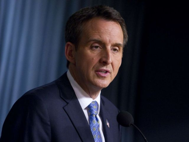PHOTO: Former Minnesota Governor and Republican candidate for president Tim Pawlenty speaks at the Cato Institute in Washington, DC, May 25, 2011.