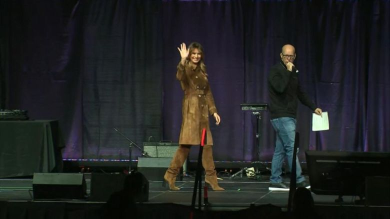 Image result for Melania Trump gets booed at Youth Summit in Baltimore