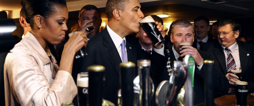 St Patricks Day And What The Obamas Do To Celebrate