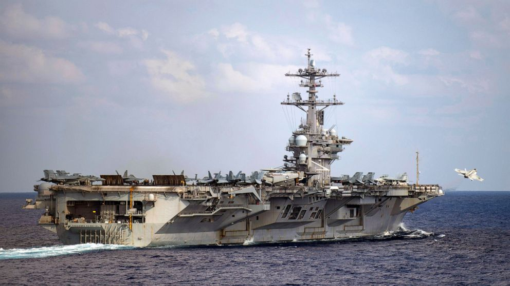 8 more sailors aboard US ship test positive a 2nd time thumbnail