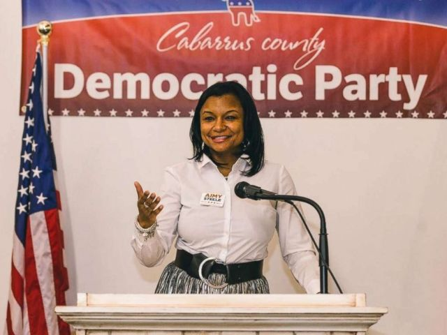 PHOTO: Aimy Steele, Democratic candidate for District 82 of the North Carolina House of Representatives is pictured in this photo from her website.