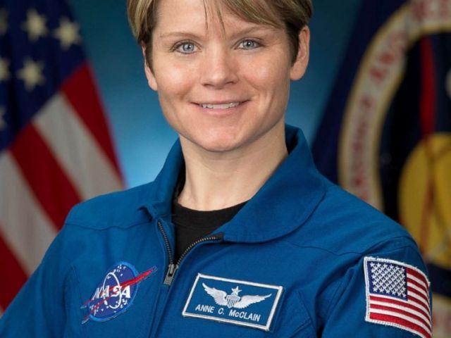 PHOTO: NASA Astronaut Anne McClain