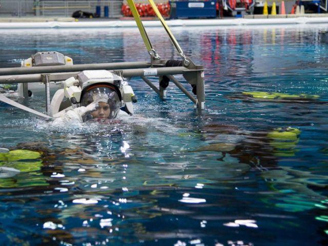 PHOTO: Astronaut Anne McClain during training.