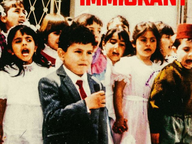 PHOTO: Cover art of Immigrant, an album by recording artist Belly, released by Roc Nation and XO Records.