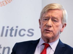 Former Governor Bill Weld campaigns in Concord, New Hampshire, March 26, 2019.