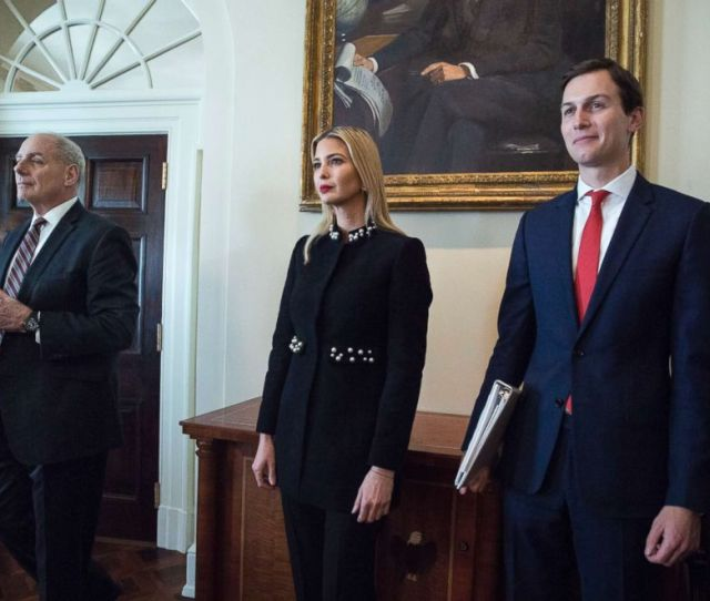 Photo From Left White House Chief Of Staff John Kelly Ivanka Trump And