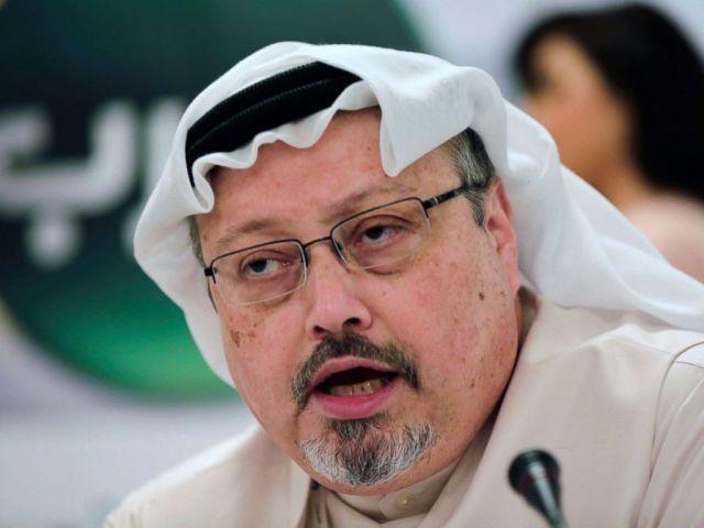 PHOTO: Saudi journalist Jamal Khashoggi in Manama, Bahrain, Feb. 1, 2015. Turkey claims that Khashoggi, who wrote for The Washington Post, was killed inside a Saudi diplomatic mission in Turkey.