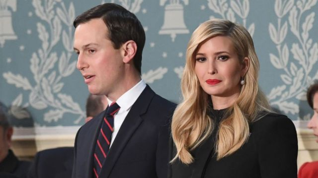 Ivanka Trump And Husband Jared Kushner Arrive To The State Of The Union Address At The