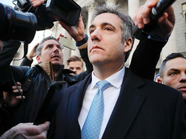 PHOTO: Michael Cohen walks out of federal court, Nov. 29, 2018, in N.Y.