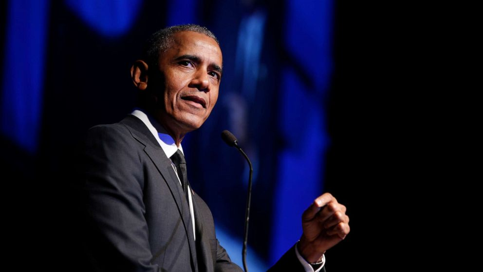 Obama tells graduating HBCU students to step up because leaders 'not even pretending to be in charge' thumbnail