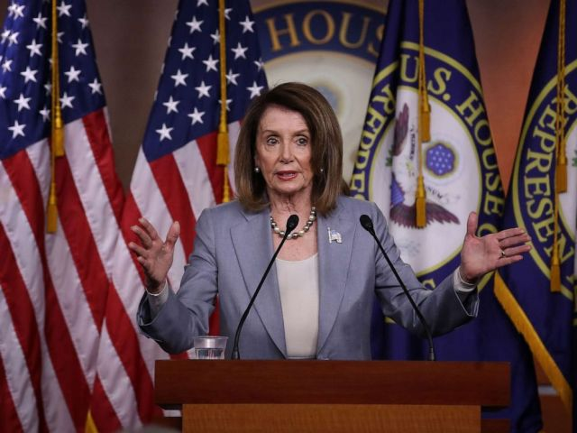 PHOTO: Speaker of the House Nancy Pelosi (D-CA) answers questions during a press conference at the Capitol, May 9, 2019.