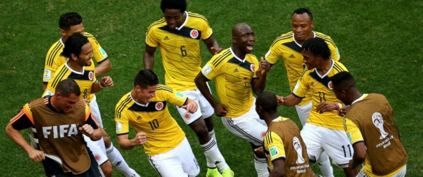 Image result for colombia soccer victory