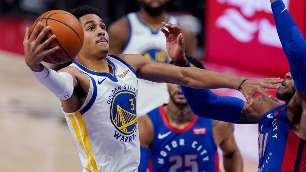 Big run in 4th quarter lifts Warriors over Pistons 116-106 - ABC News