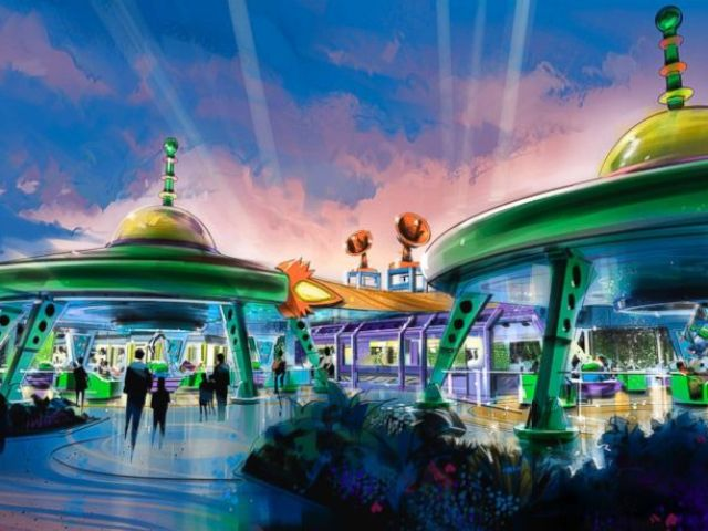 PHOTO: This swirling saucer attraction is coming to Toy Story Land at Walt Disney World Resort.