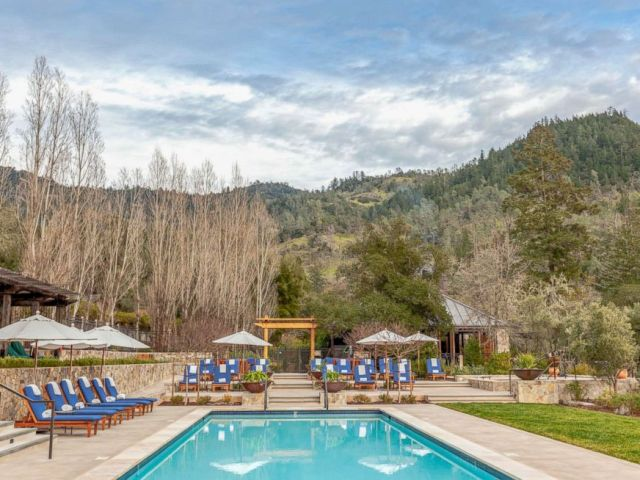 PHOTO: Shown here is the Calistoga Ranch, an Auberge Resort.