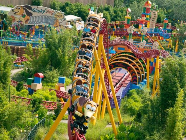 PHOTO: Slinky Dog Dash ride at Walt Disney World Resorts.