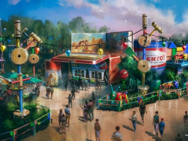 PHOTO: Woodys Lunch Box will be a new quick-service window serving tasty meals and old-fashioned soda floats within Toy Story Land at Disneys Hollywood Studios when it opens in summer 2018.