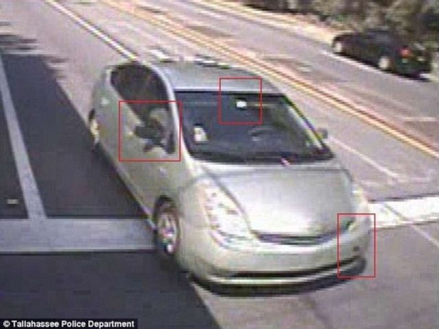 PHOTO: Surveillance shows the car Dan Markels murderers left the scene in.
