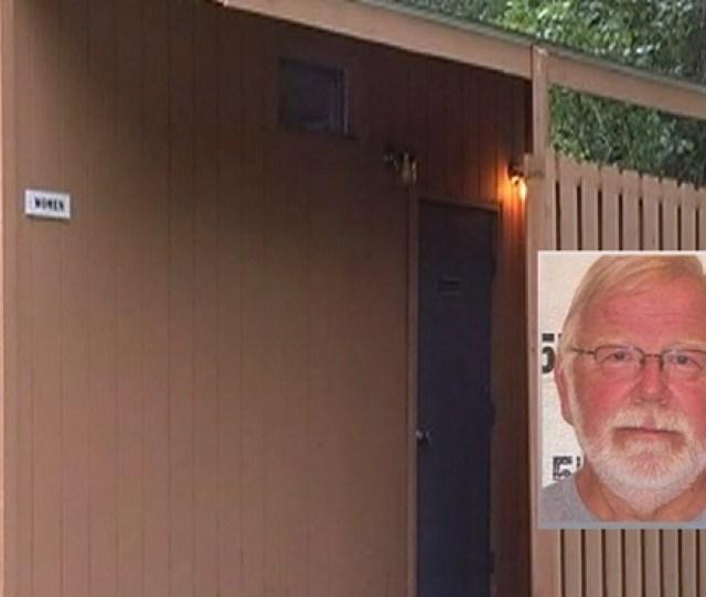 Campers Find Hidden Camera In Bathroom