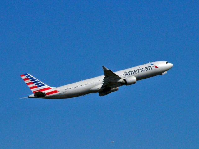PHOTO: An American Airlines plane takes off in this stock photo.