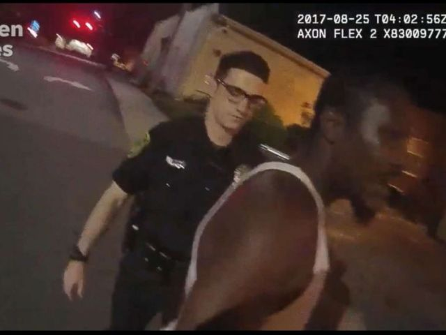 PHOTO: The FBI is launching an investigation into the force police used on Johnnie Rush, after he was stopped for jaywalking in in August 2017 in Ashville, N.C.