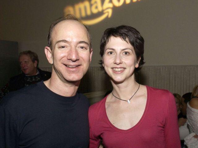 PHOTO: Jeff Bezos, CEO of Amazon and McKenzie Bezos attend the Amazon.com Sundance Party in Park City, Utah, Jan. 22, 2005.