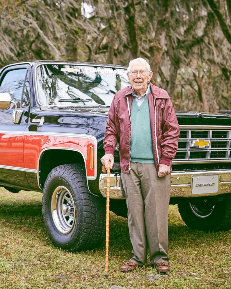 Former Chevy Engineer And Chevy Trucks Celebrate Centennial Together Abc News