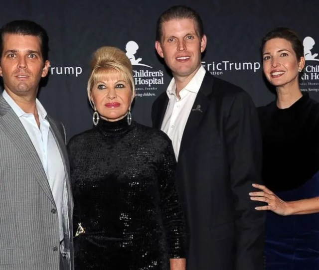 Ivana Trump Opens Up 7 Most Surprising Facts About Her Life With Donald Trump Abc News