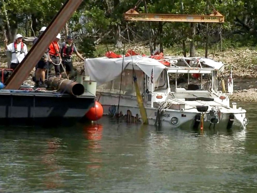 Duck Boat Not Certified To Operate In Winds Over 35 Mph