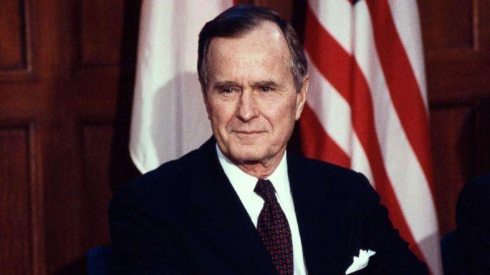 Resultado de imagen para Fotos de George H. W. Bush