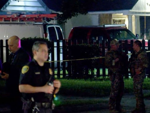 PHOTO: A Houston police officer was shot on Sept. 11, 2019 during a crime spree in the city that left one of the suspects dead, police said.