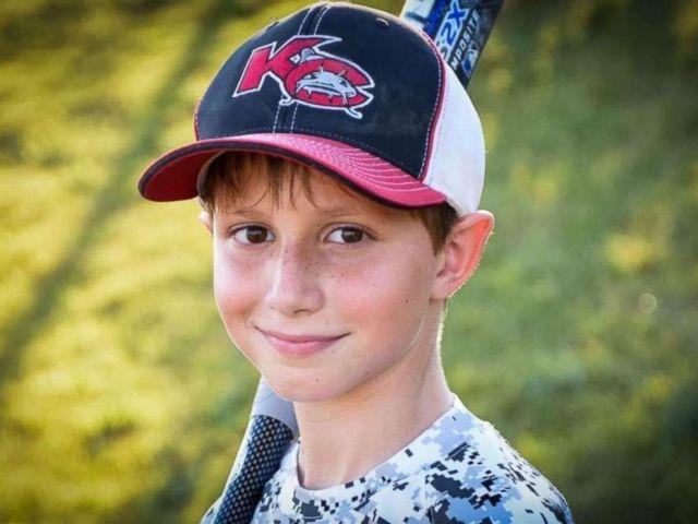 PHOTO: Caleb Schwab, 10, change into killed in an accident on a trek at Schlitterbahn Water Park in Kansas City, Kansas.