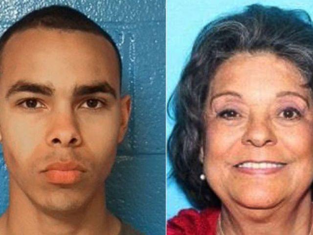 PHOTO: Isaiah Kahleal Evans Caeser, 18, and his grandmother Sally Copeland Evans, 74, are pictured in these undated photos released by Halifax County Sheriffs Office.