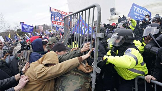PHOTO: Pro-Trump supporters clash with police on Capitol Hill, Jan. 6, 2021, in Washington, D.C.