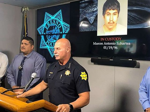 PHOTO: Marcos Echartea, 23, was arrested in the shooting of a 10-month-old girl in Fresno, Calif.
