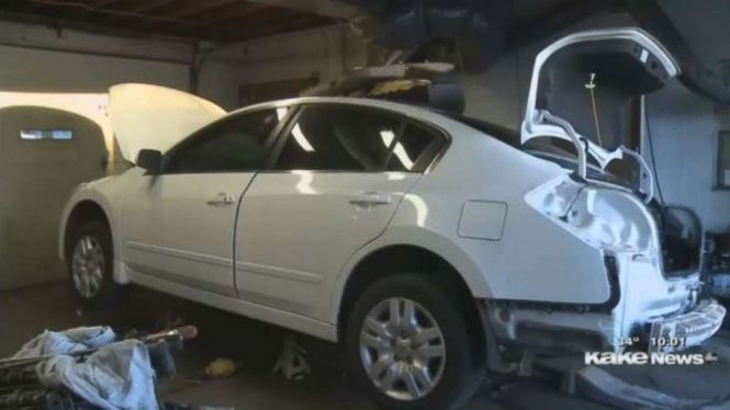 Kansas Car Dealer Finds 27 Pounds Of Meth Heroin Hidden In Bought At Auction Abc News